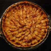 How to make Bilbo's Apple-Tart from The Hobbit | CookFiction.com