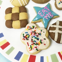 How to make Eat Me Cookies from Alice in Wonderland | CookFiction.com