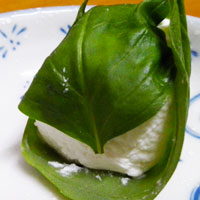 How to make Prim's Basil-Wrapped Goat Cheese from The Hunger Games | CookFiction.com