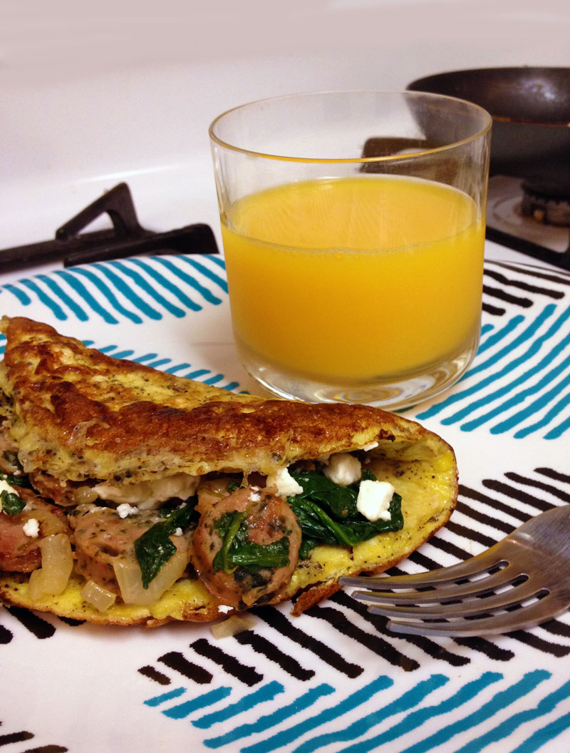How to make Jibalian Omelet from Star Trek - Voyager | CookFiction.com