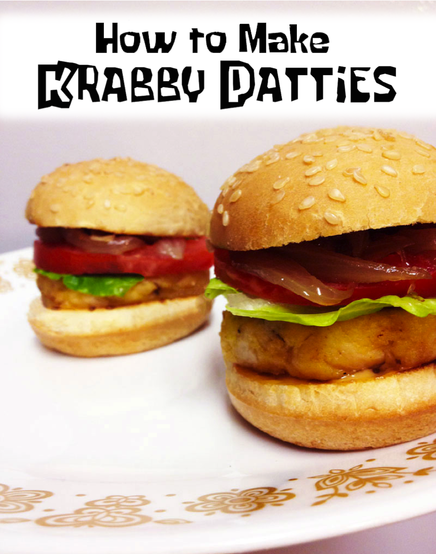 How to make Krabby Jelly Patty from Spongebob Squarepants | CookFiction.com
