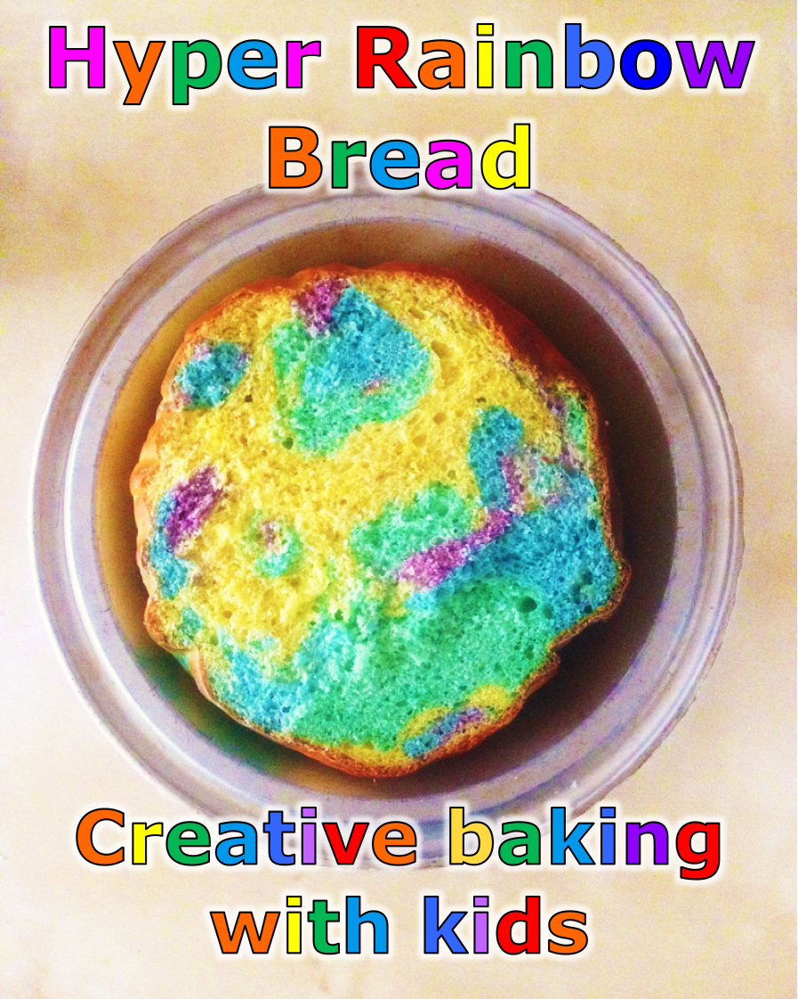 How to make Hyper Rainbow Bread from Clannad - After Story | CookFiction.com