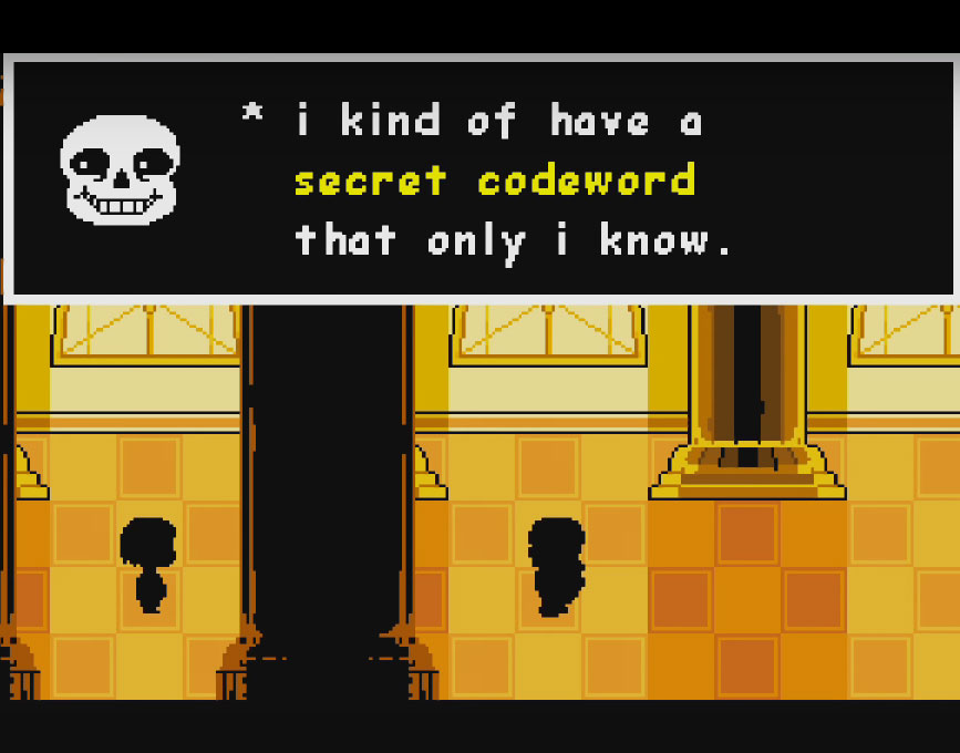 Undertale How To Get In Secret Room Behind Papyrus House